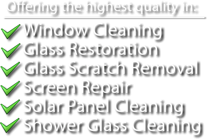 Window Cleaning in Scottsdale, Arizona by Signature Window Cleaning